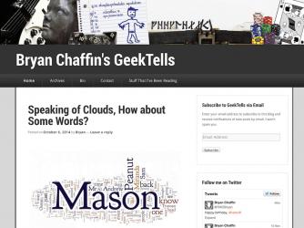 Bryan Chaffin's Geek Tells