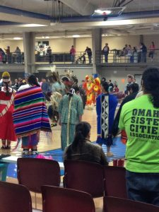 Photo of Creighton University powwow